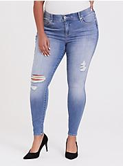 Bombshell Skinny Jean - Premium Stretch Light Wash, KINGS CROSS, hi-res