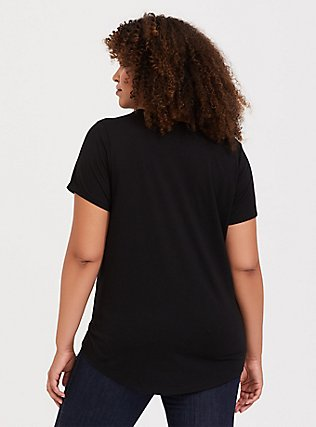 Does It Come In Black Black Crew Tee, DEEP BLACK, alternate