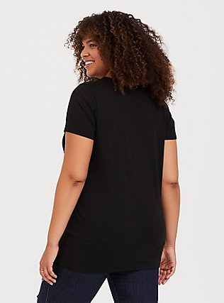 Black Sun & Moon Crew Tee, DEEP BLACK, alternate