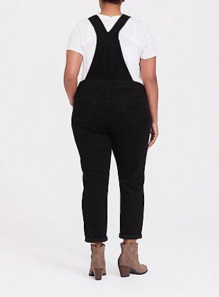 Plus Size Overall - Premium Stretch Black, BLACK, alternate