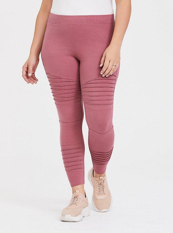 Premium Legging - Moto Pink Rose , , hi-res