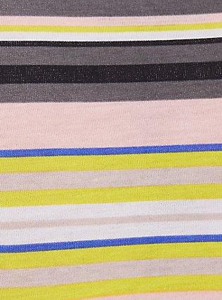 Plus Size Torrid Logo Multi Stripe Cotton Cheeky Panty, , alternate