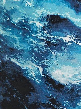 Blue Ocean Crop Swim Legging , MULTI, alternate