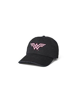 Breast Cancer Awareness - Wonder Woman Black Cap, , pdped