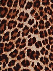 Leopard Cotton Button Front Cardigan, LEOPARD, alternate