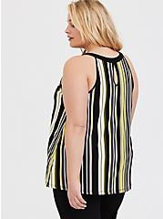 Multi Stripe Studio Knit Goddess Tank, STRIPES, alternate