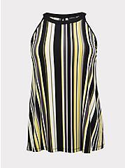Multi Stripe Studio Knit Goddess Tank, STRIPES, hi-res