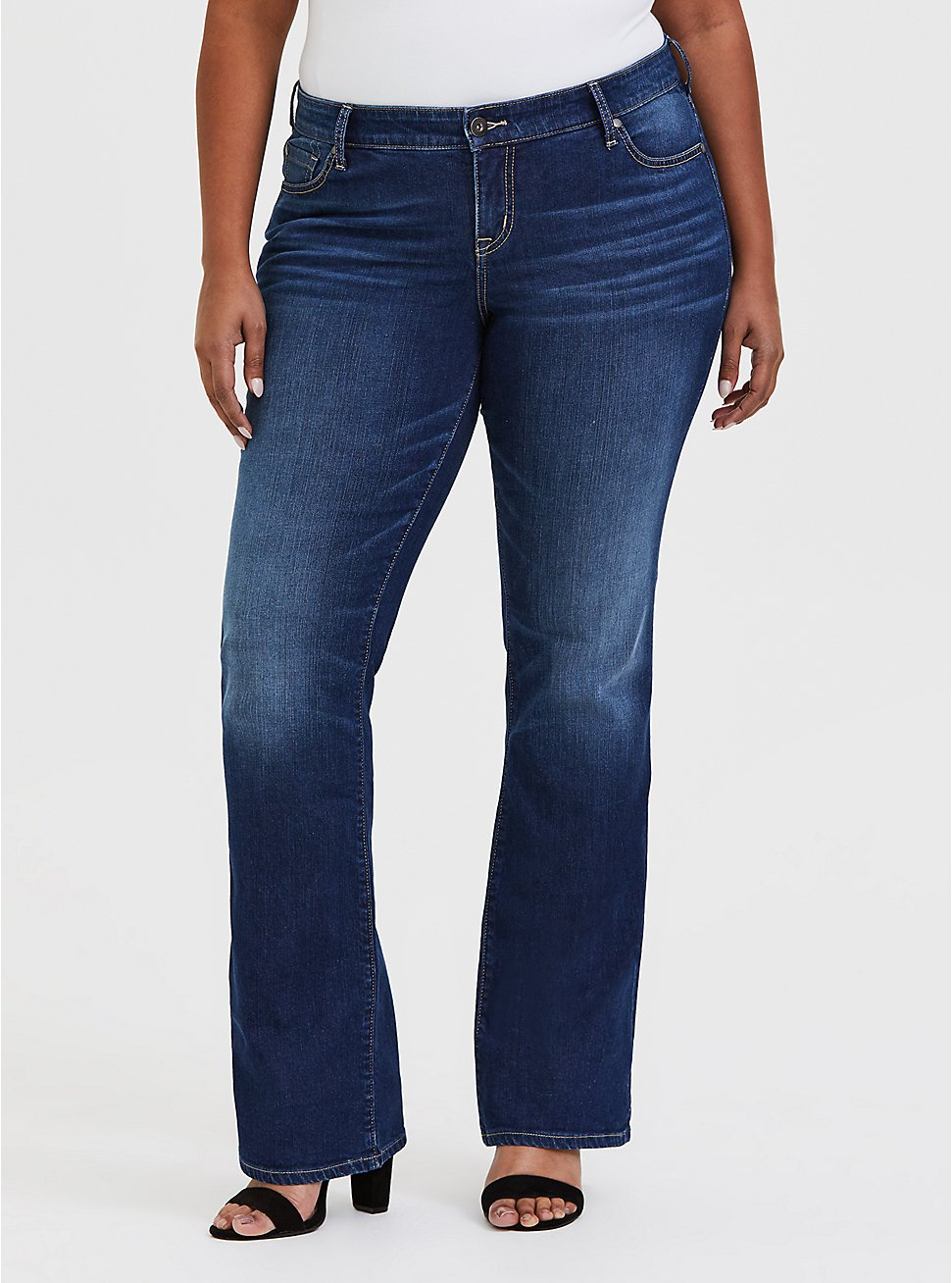 Relaxed Boot Jean - Vintage Stretch Dark Wash, PRIMO, hi-res