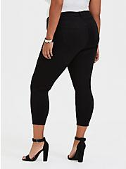 Crop Sky High Skinny Jean - Premium Stretch Black, BLACK, alternate