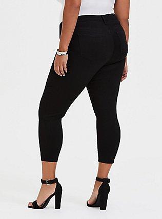 Crop Sky High Skinny Jean - Premium Stretch Black, BLACK, alternate