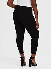 Crop Sky High Skinny Jean - Premium Stretch Black, , fitModel1-alternate
