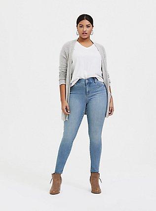 Bombshell Skinny Jean - Premium Stretch Light Wash, FAIRLIGHT, alternate