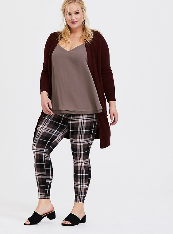 Premium Legging - Plaid Multi, , hi-res