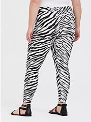 Platinum Legging - Liquid Zebra, ZEBRA - BLACK, alternate