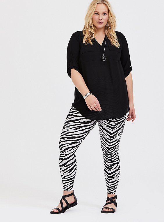 Platinum Legging - Liquid Zebra, , hi-res