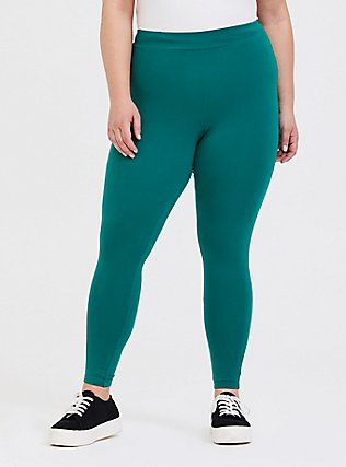 Premium Legging - Emerald Green, CADMIUM GREEN, alternate