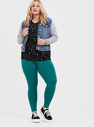 Premium Legging - Emerald Green, CADMIUM GREEN, hi-res