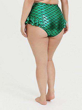 Disney The Little Mermaid Ariel Scale Green Ruffle Swim Bottom, MULTI, alternate