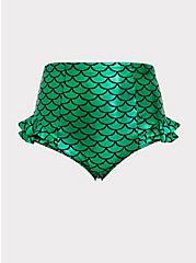 Disney The Little Mermaid Ariel Scale Green Ruffle Swim Bottom, MULTI, hi-res