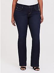 Slim Boot Jean - Vintage Stretch Dark Wash , CANARY WHARF, hi-res