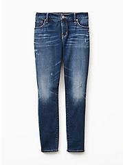 Mid Rise Skinny Jean - Vintage Stretch Medium Wash, SHELBY 68, hi-res