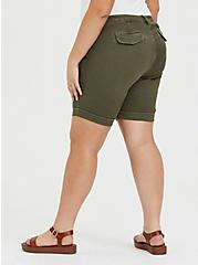 Bermuda Chino Short - Twill Olive Green, ARMY GREEN, alternate