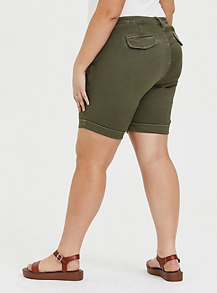 Chino Twill Short - Olive Green, ARMY GREEN, alternate