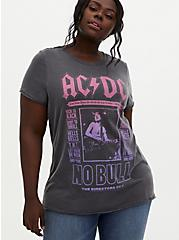 AC/DC Washed Black Crew Tee, DEEP BLACK, hi-res