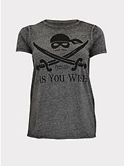 The Princess Bride As You Wish Burnout Grey Crew Tee, MEDIUM HEATHER GREY, hi-res