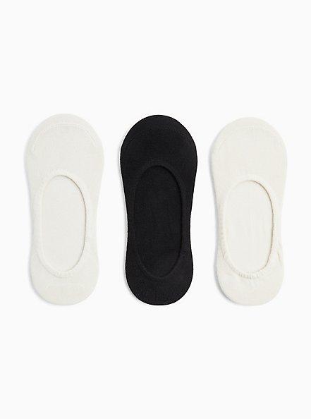 Multi Pack No Show Socks - Pack of 3, , hi-res