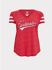 MLB St. Louis Cardinals Red Triblend Tee, JESTER RED, hi-res