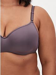 Vintage Purple 360° Back Smoothing™ Lightly Lined Full Coverage Balconette Bra, MUTED VIOLET PURPLE, alternate
