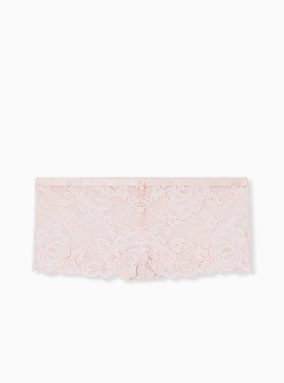 Light Pink Lace Cheeky Panty , , hi-res