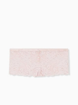 Blush Pink Lace Cheeky Panty , LOTUS PINK, hi-res