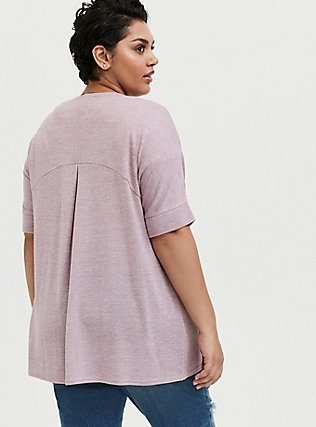 Mauve Pink Hacci Dolman Cardigan, MAUVE SHADOWS, alternate