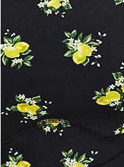 Black Lemon Longline Wicking Sports Bra, MULTI, alternate