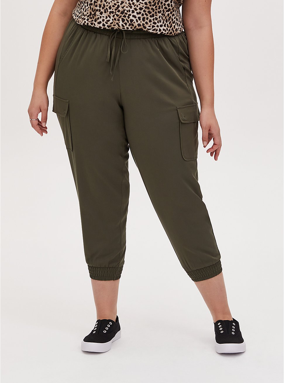 Relaxed Fit Jogger - Challis Olive Green, DEEP DEPTHS, hi-res