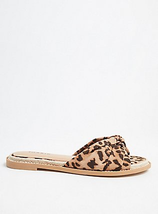 Leopard Knot Espadrille Sandal (WW), ANIMAL, hi-res