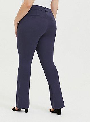 Studio Signature Premium Ponte Stretch Trouser - Slate Grey, OCEAN BLUE, alternate