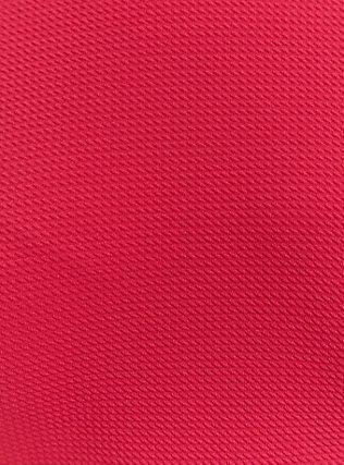Fuchsia Pink Textured Ponte Hi-Lo Peplum Top, PINK PASSION, alternate