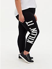 Premium Legging - Killin' It Black, MULTI, alternate