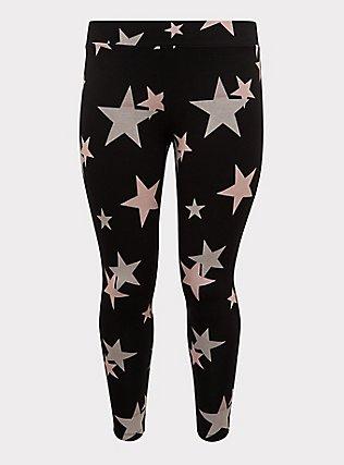 Premium Legging - Stars Black, STARS - BLACK, flat