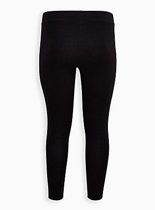 Premium Legging - Rainbow Hearts Black, RAINBOW, alternate