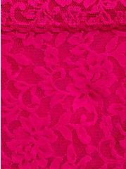 Neon Pink Lacey Cheeky Panty, SUPERSONIC, alternate