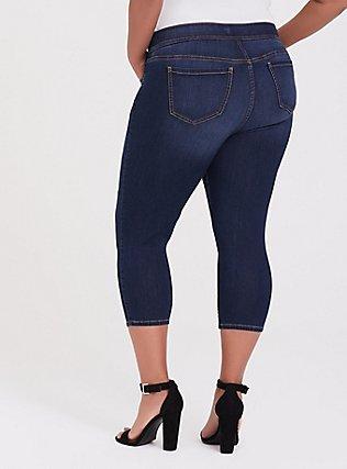 Crop Lean Jean- Super Stretch Medium Wash, MANCHESTER, alternate