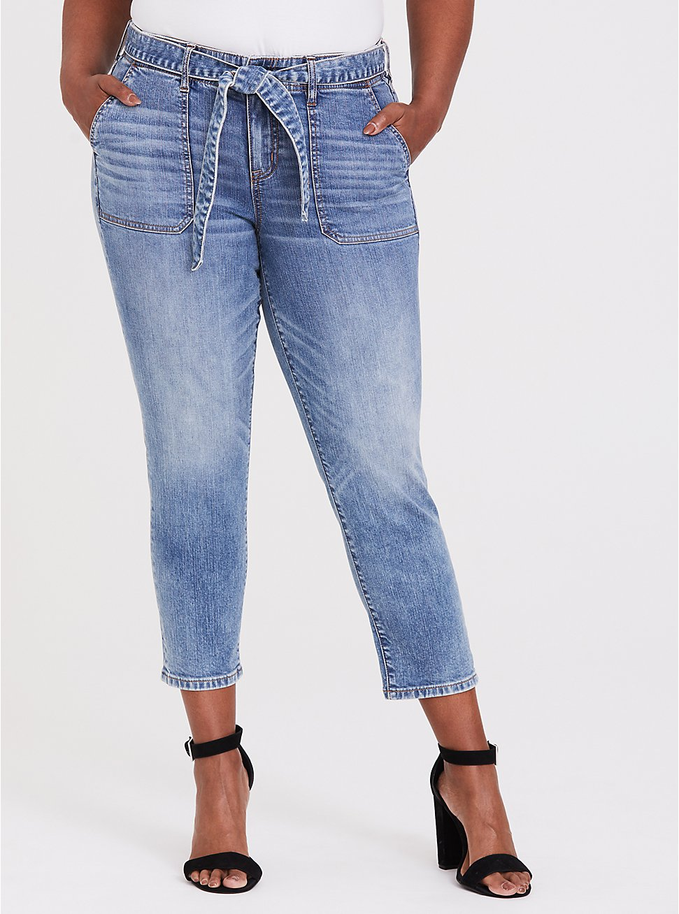 Mid Rise Straight Jean- Vintage Stretch Light Wash with Sash, , fitModel1-hires