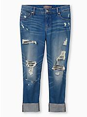 Crop Boyfriend Jean - Vintage Stretch Medium Wash, BACKSEAT BINGO, hi-res