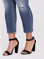 Mid Rise Straight Jean - Vintage Stretch Medium Wash, DURANGO, alternate