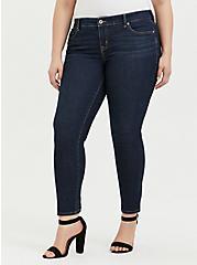 Classic Straight Jean - Vintage Stretch Dark Wash , MOONLIT, hi-res