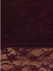 Grape Purple Lace Lightly Padded Bralette, POTENT PURPLE, alternate